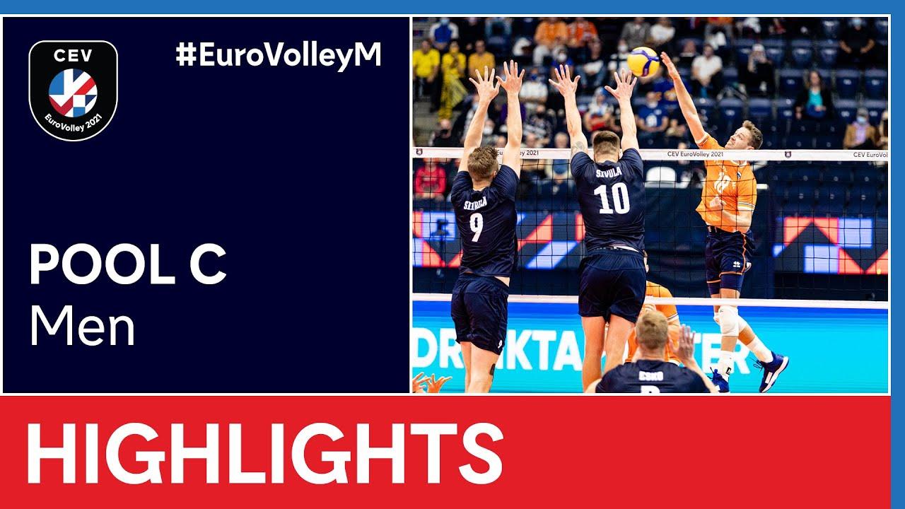 Finland vs. The Netherlands Highlights - #EuroVolleyM