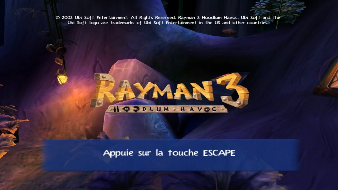 Eagen Test #19 - Rayman 3 Hoodlum Havoc PC