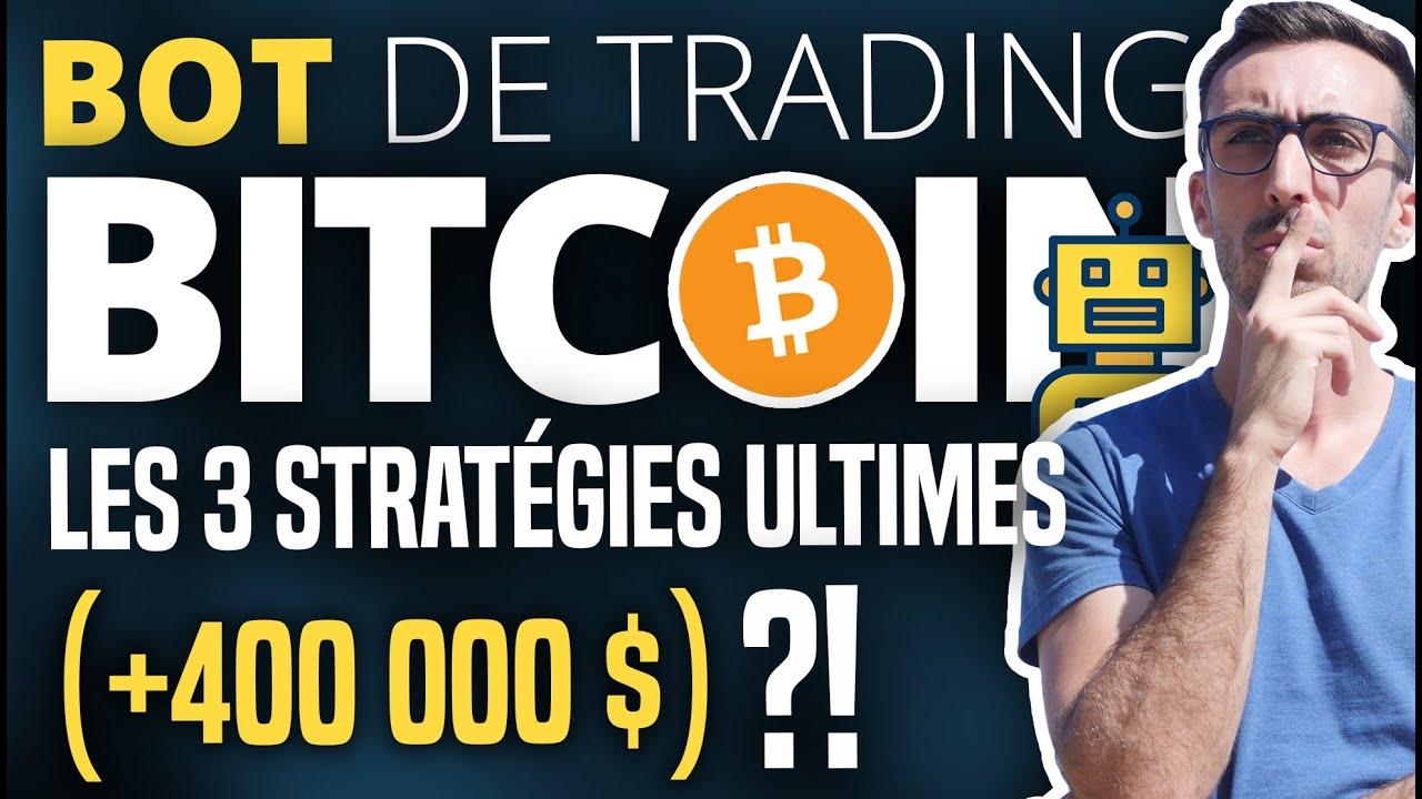 BOT TRADING BITCOIN : Les 3 stratégies ultimes ? (NapBots, Trading du Coin & INVAO)
