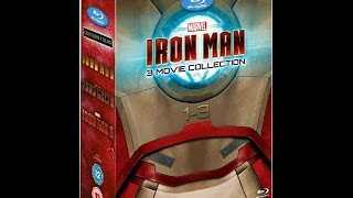 Baixar IRON MAN Complete 3 Movie Collection Blu Ray Unboxing