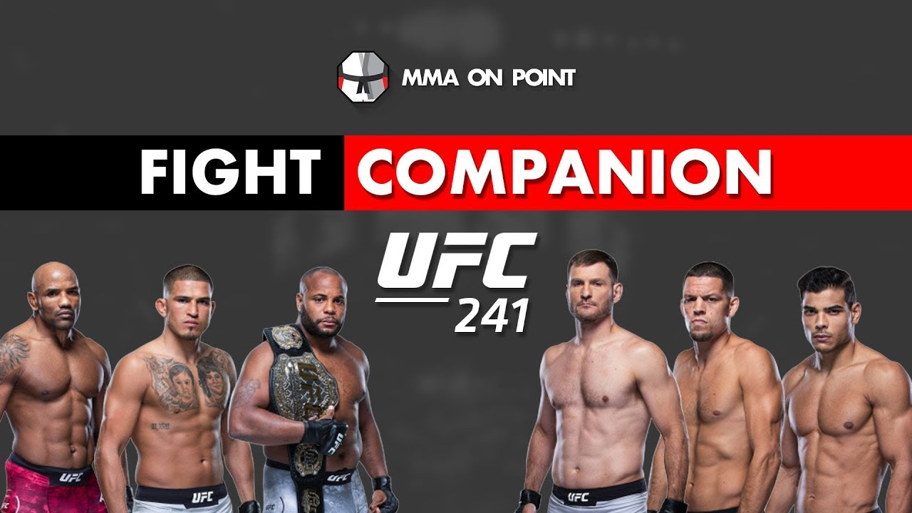 How To Watch UFC 241