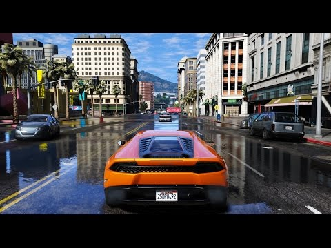 ► GTA 6 Graphics - Huracan! ✪ M.V.G.A. - Gameplay! 2017 Realistic Graphics MOD 60FPS