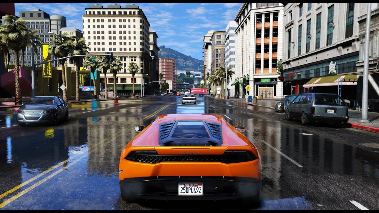 Gta 6 Graphics Huracan M V G A Gameplay 2017