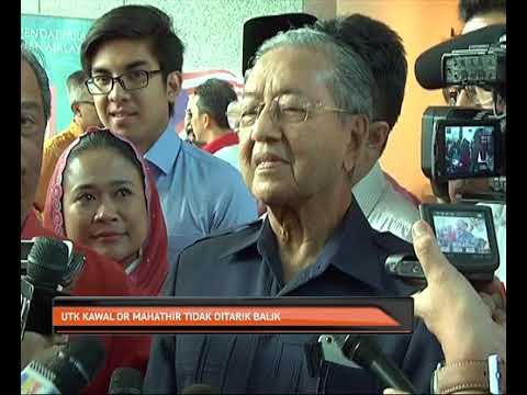 UTK kawal Tun Dr Mahathir tidak ditarik balik