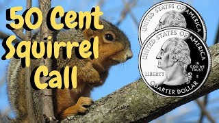 How To Make A Squirrel Cutting Call-- 50 Cent Squirrel Call