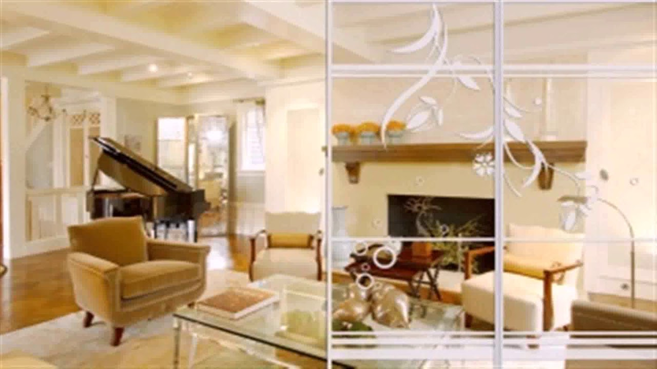 Living Room And Kitchen Partition Design - YouTube