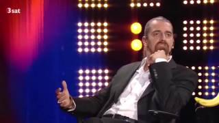 German comedian bashes meat, dairy, factory farming