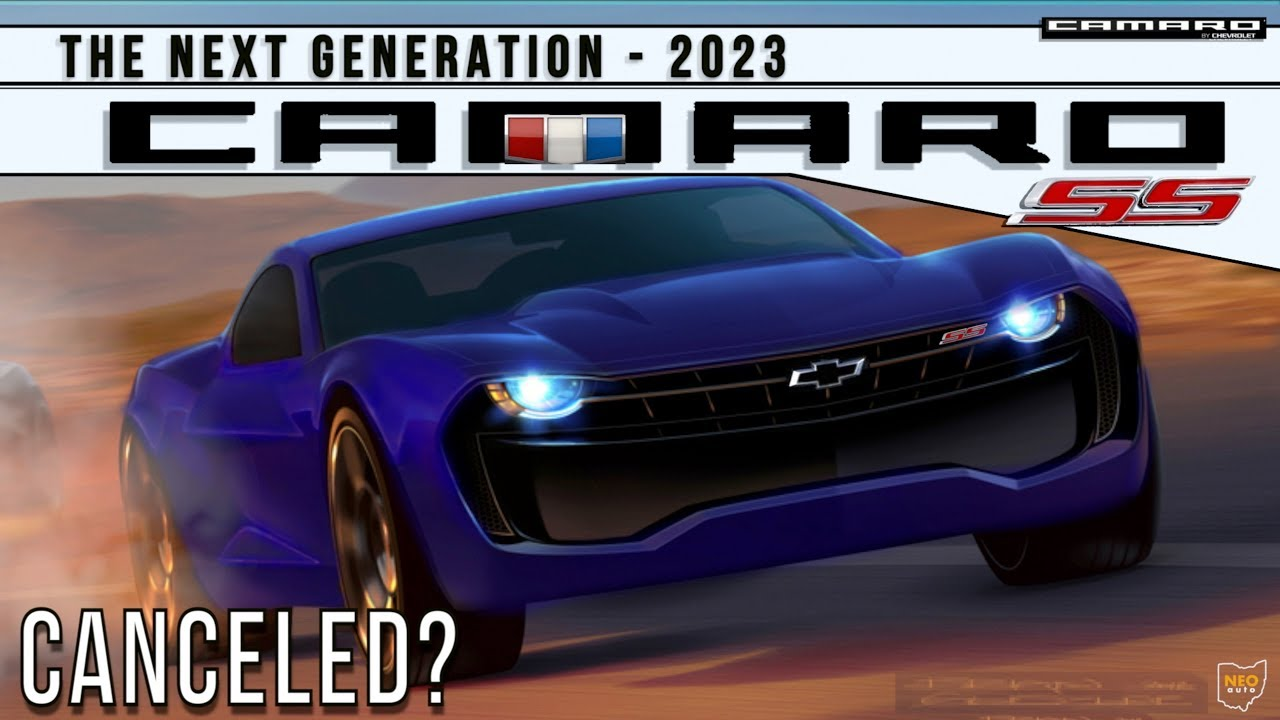 2023 Chevy Camaro Killed Off Latest News What We Know Youtube