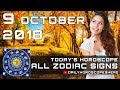 Free Daily Horoscope for 9 October 2018