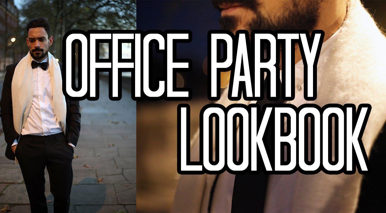 f8f54925f9aa OFFICE PARTY LOOKBOOK | MEN'S STYLE | Carl Thompson - YouTube
