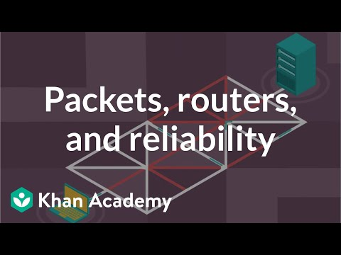 Packet, Routers, And Reliability | Internet 101 | Computer Science | Khan Academy