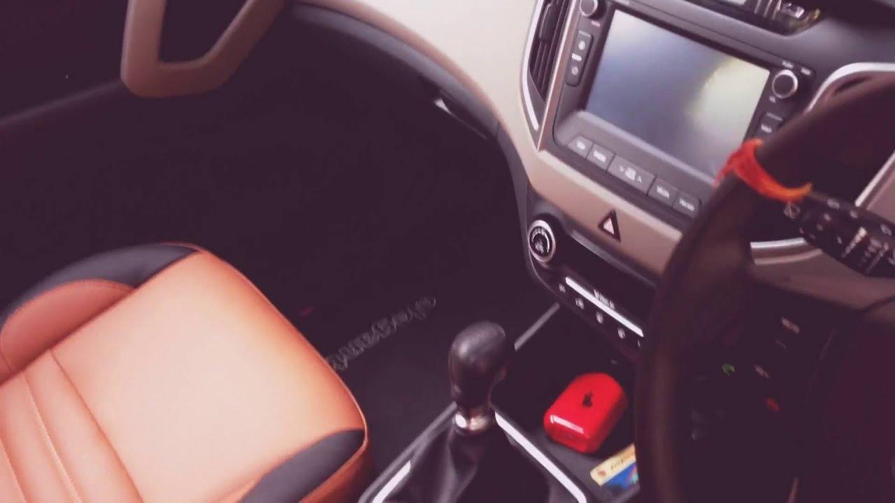 Hyundai Creta Seat Covers Tan Color