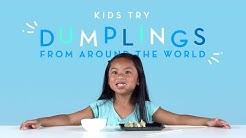 Kids Try Dumplings from Around the World | Kids Try | HiHo Kids