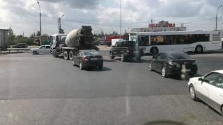 Развязка №3 на московском шоссе, строительство