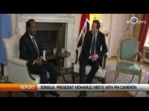 SOMALIA: HASSAN SHEIKH MOHAMUD MEETS WITH DAVID CAMERON