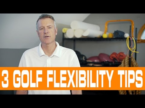Increase Mobility and Flexibility for the Golf Swing