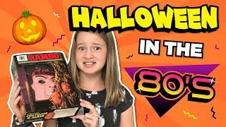 Can kids today survive Halloween in the 80s?