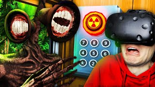 NEW Unlocking SECRET SIREN HEAD FLOOR In VR Elevator (Floor Plan VR Funny Gameplay)