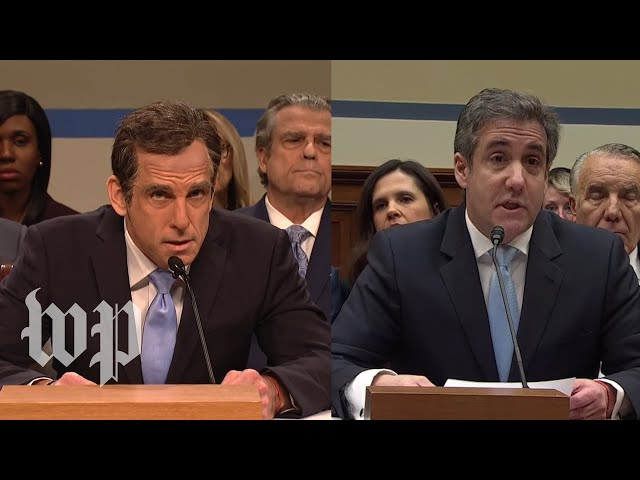 SNL's parody of the Michael Cohen testimony compared with his actual testimony