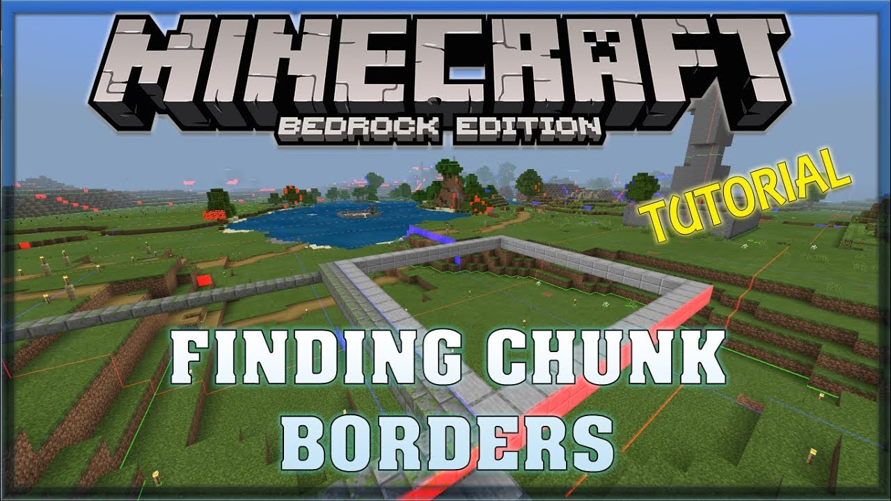 How to find Chunks in Survival Tutorial on Truly Bedrock [ Minecraft, MCPE,  Bedrock Edition ]
