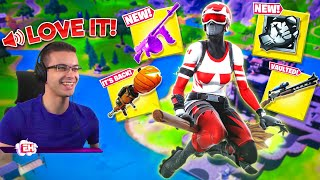 Nick Eh 30 reacts to Halloween Update! (FORTNITEMARES 2020)
