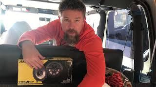 Rear Speaker Change Jeep TJ
