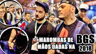 REAÇÃO DAS PESSOAS VENDO MAROMBAS DE MÃOS DADAS NA BGS 2018
