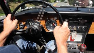 1966 Austin-Healey 3000 Mk III BJ8 Driving