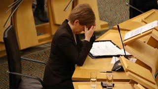 video: Nicola Sturgeon imposes full 'stay at home' lockdown in Scotland– with swipe at Boris Johnson