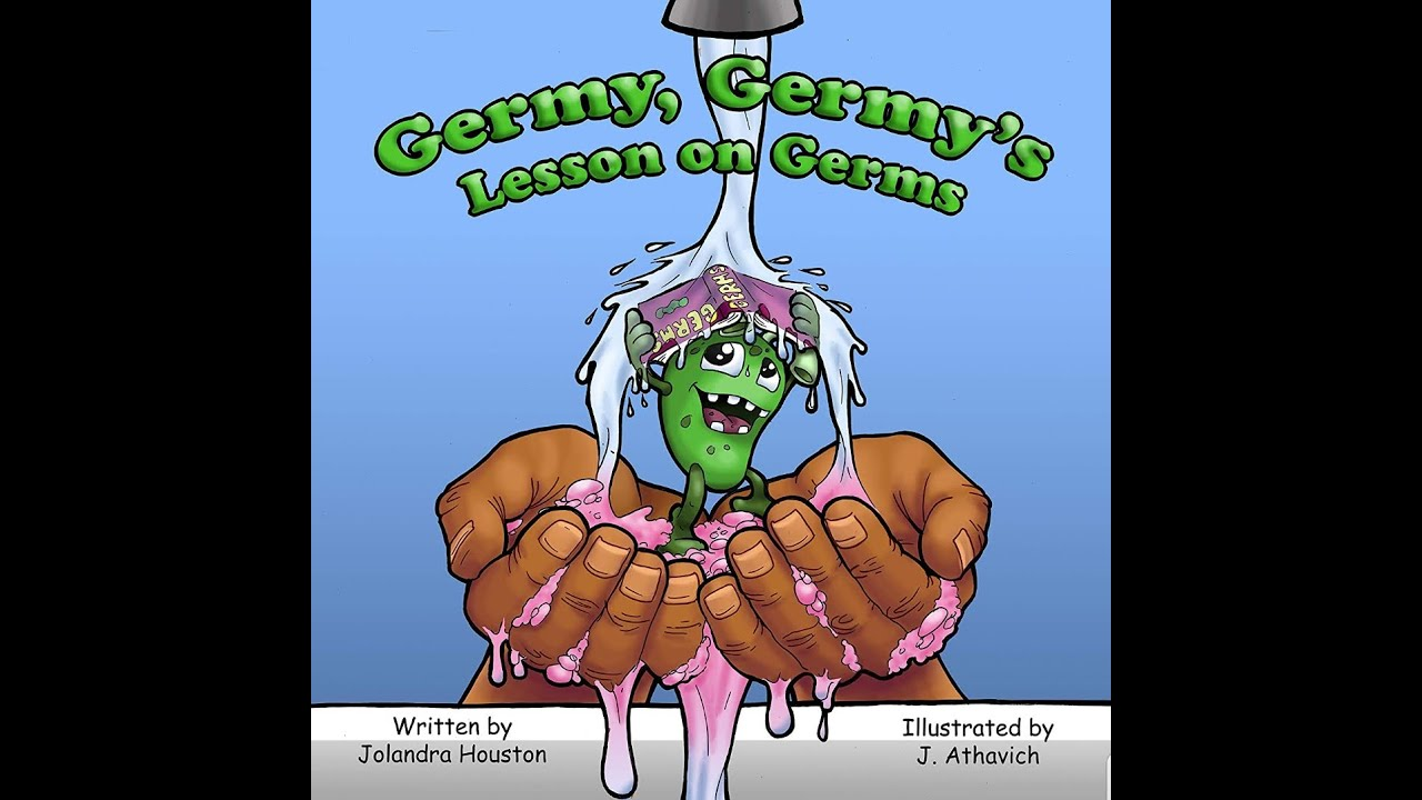 About the book: Germy Germy's Lesson on Germs