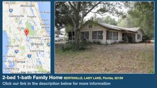 2-bed 1-bath Family Home for Sale in Lady Lake, Florida on florida-magic.com