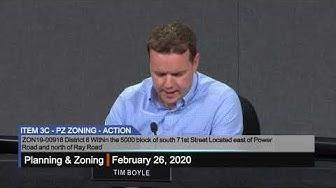 Planning & Zoning Meeting - 2/26/2020