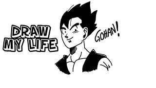 La vida de gohan - Draw my life