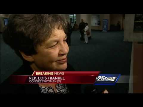 Rep. Lois Frankel reacts to FLL shooting