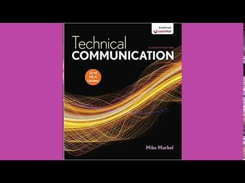 Practice Test Bank For Technical Communication With 2016 MLA Update By Markel 11th Edition