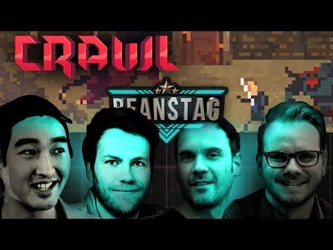Crawl | Beanstag #017 mit Etienne, Nils, Budi & Dennis | Let's Play Crawl