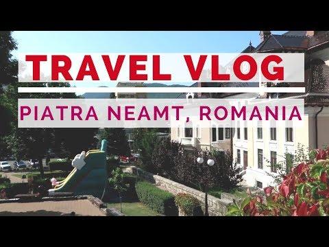 Holiday Travel Vlog: Romania, Piatra Neamt
