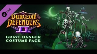 Dungeon Defenders 2 Grave Danger Costume Pack!