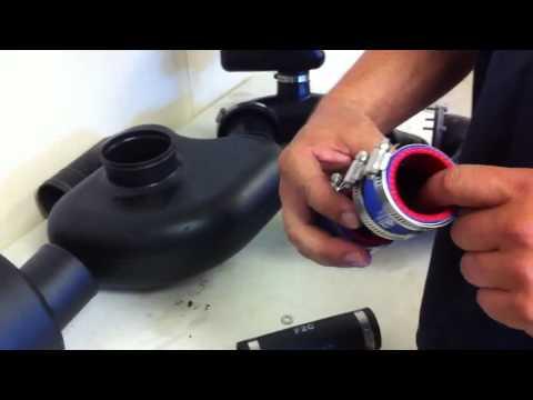 VXR Exhaust, Ride Plate Insert And Driveshaft Sleeve Modifi