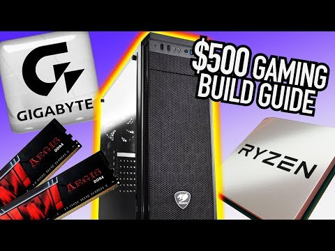 Budget Console Killer | AMD Gaming PC Build – Building