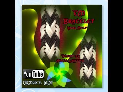 Rainbow Loom Band EM Braid Bracelet Tutorial/How to