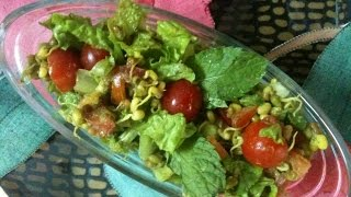Sprouts In Farm House Salad- Kavita The Chef