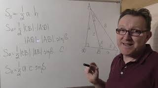 Площадь треугольника. Новые формулы.