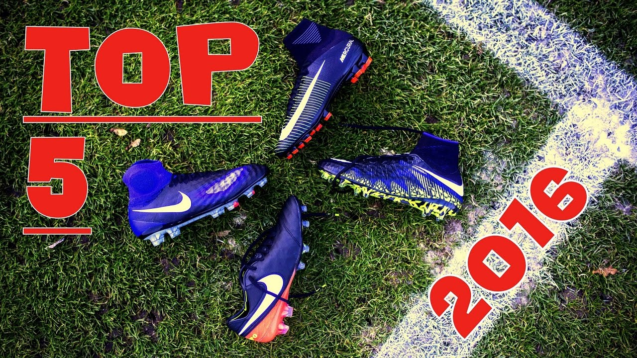 5020216d5 Top 5 Best Football Boots 2016 - NIKE or ADIDAS   - YouTube
