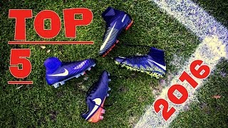Top 5 Best Football Boots 2016 - NIKE or ADIDAS ?