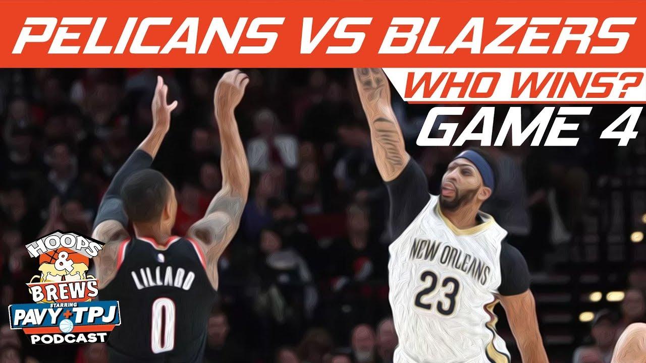 Pelicans Vs Trail Blazers Detail: New Orleans Pelicans Vs Portland Trail Blazers