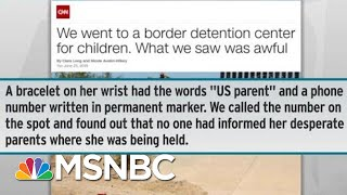 Donald Trump Makes Political Ploy Of Cruelty To Separated Immigrant Kids | Rachel Maddow | MSNBC
