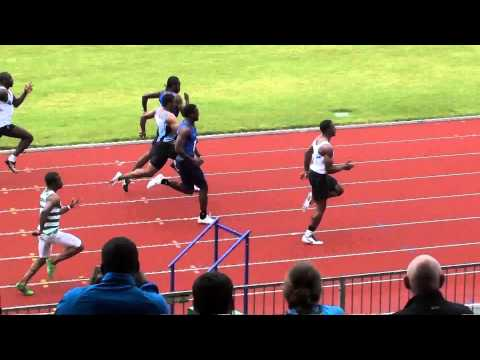 Senior Men's 100m at 2013 Southern Champs