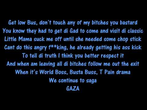 Vybz Kartel Ft Busta Rhymes & T Pain - You Already Know Lyrics