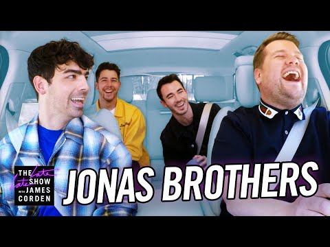 Chris Davis - The Jonas Brothers Took a Lie Detector Test on Carpool Karaoke!